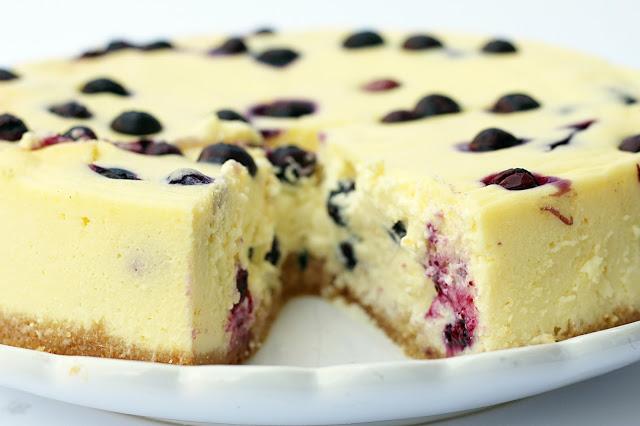 Blaubeer-Cheesecake Garten Mai