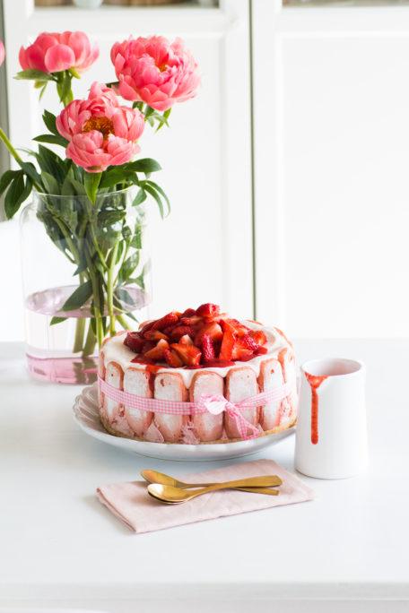 Erdbeercharlotte zu Pfingsten Houseno37