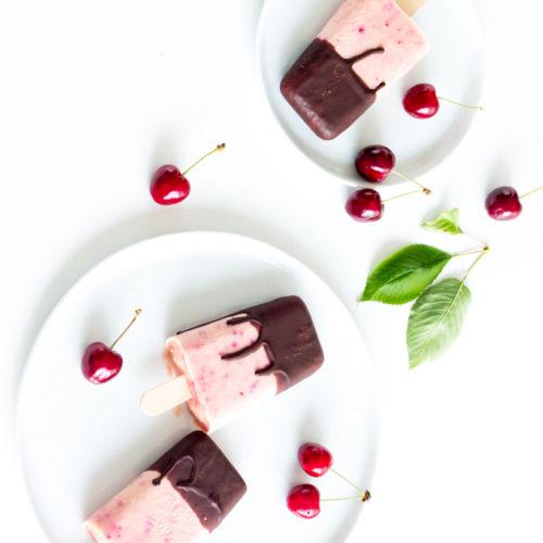 Schoko-Kirsch-Eis