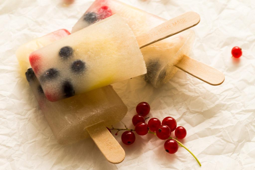 Kokoswasser Popsicle - eine gesunde Erfrischung