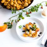 Let's cook the Kürbis - Kürbisgnocchi mit Thymian-Kürbiskern-Bröseln