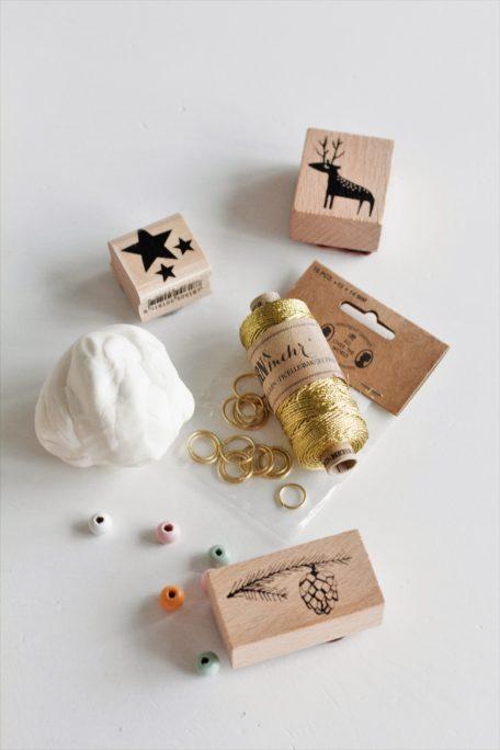 Kaltporzellan Geschenkanhänger DIY House No37