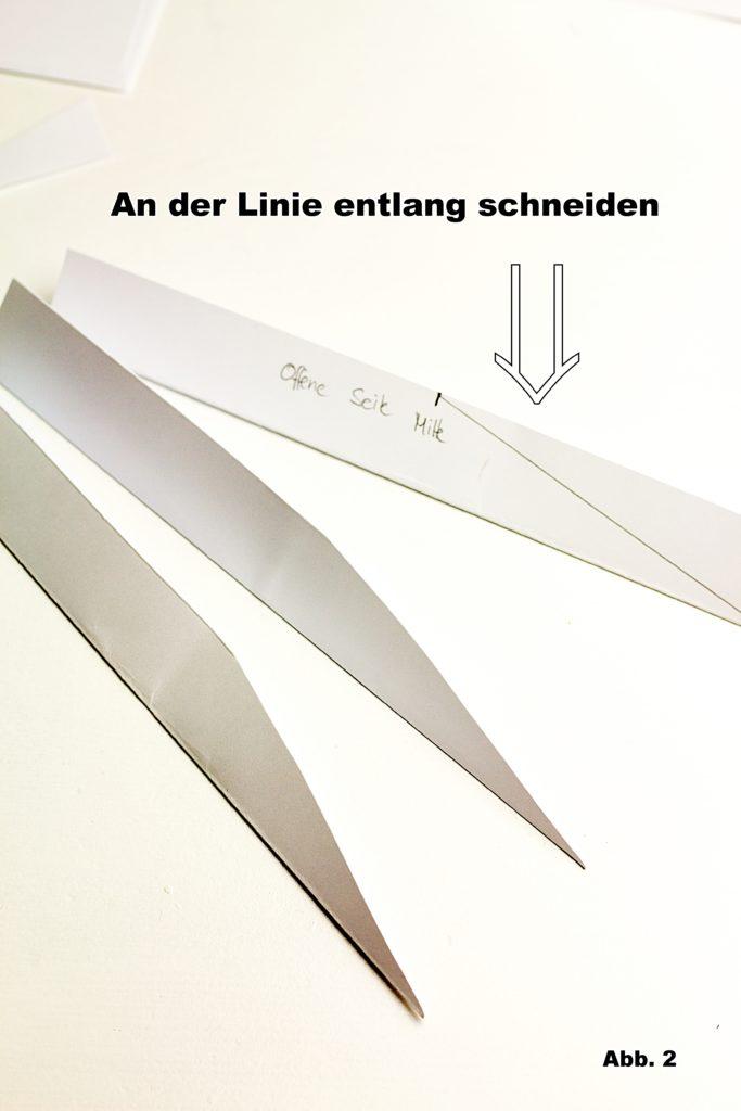 Puristische Papiersterne DIY Houseno37.de