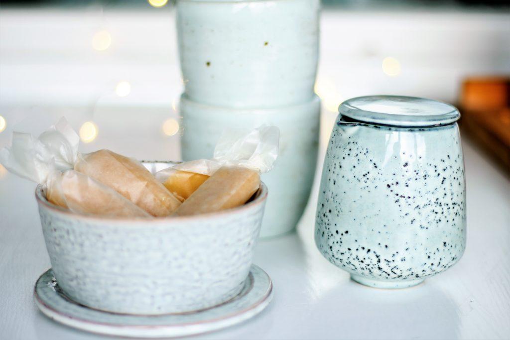 Geschenke aus der Küche - Selbstgemachte Salzkaramellbonbons