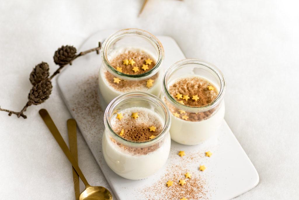 Marzipan-Panna-Cotta - ein schnelles Dessert zu Weihnachten Houseno37.de
