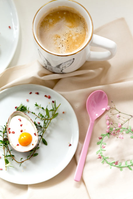 Süßes Osterdessert - Schoko-Quark-Mousse - Dessert im Ü-Ei Houseno37.de