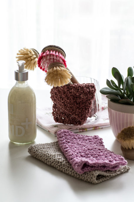 Nachhaltig, praktisch und schön - Spültücher selber stricken DIY