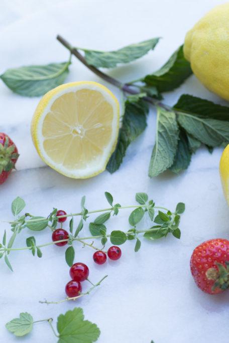 Limonaden Zutaten