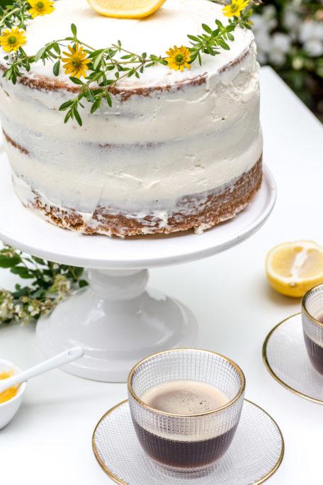 Naked Cake Zitronentorte