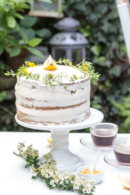 Naked Cake Zitronencreme