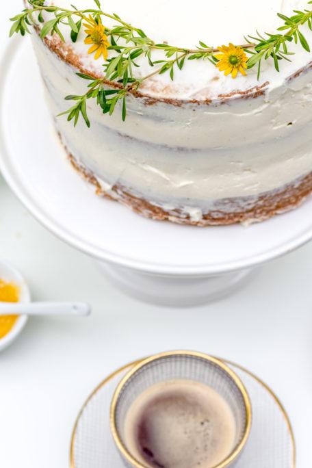 Naked Cake mit Zitrone