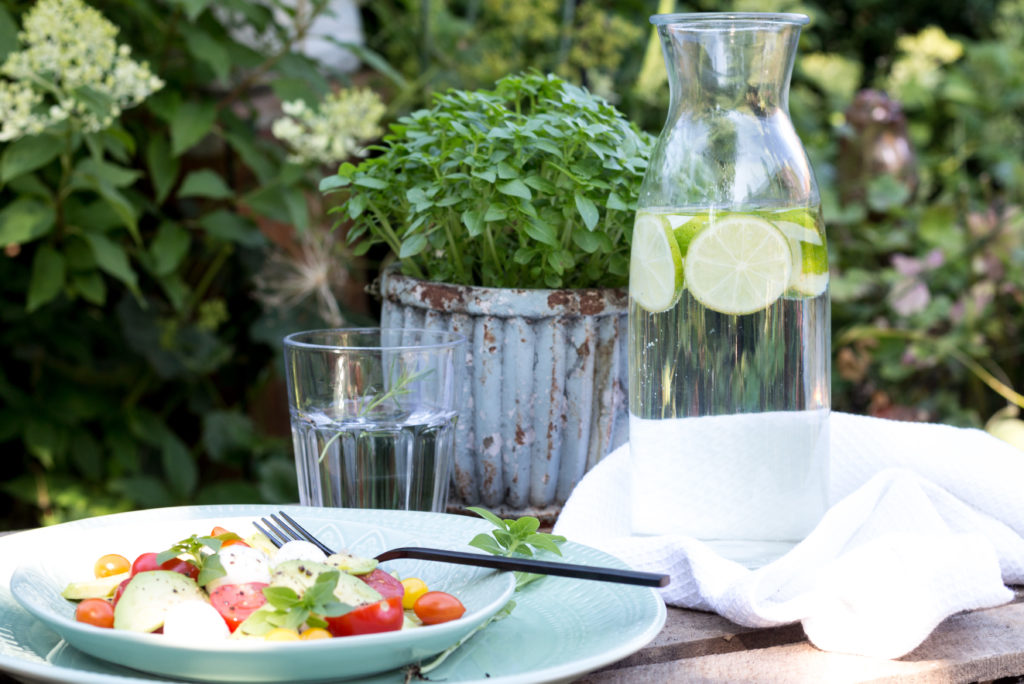 leichte Sommersalate