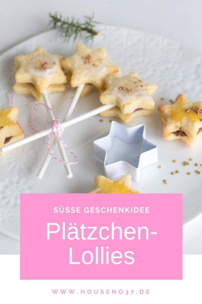 Plätzchen-Lollies