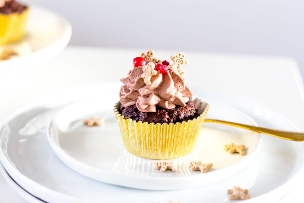 Lebkuchen Cupcake