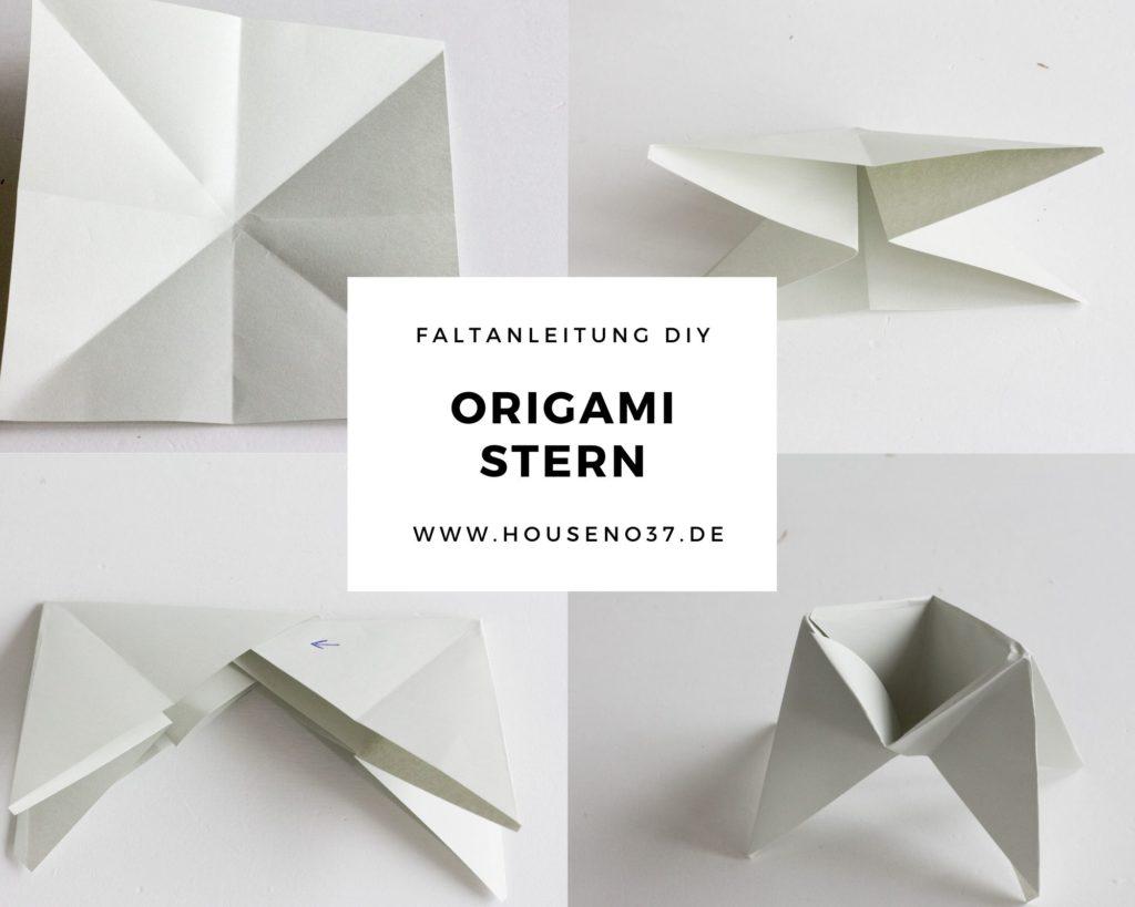 Origami Stern step by step