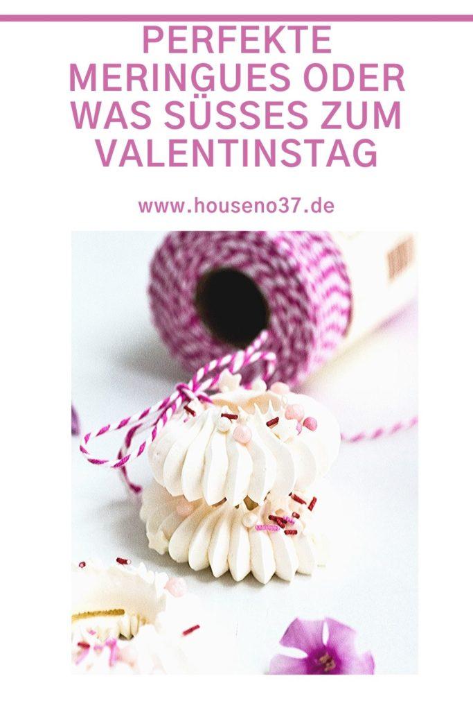 Perfekte Meringues oder was süßes zum Valentinstag
