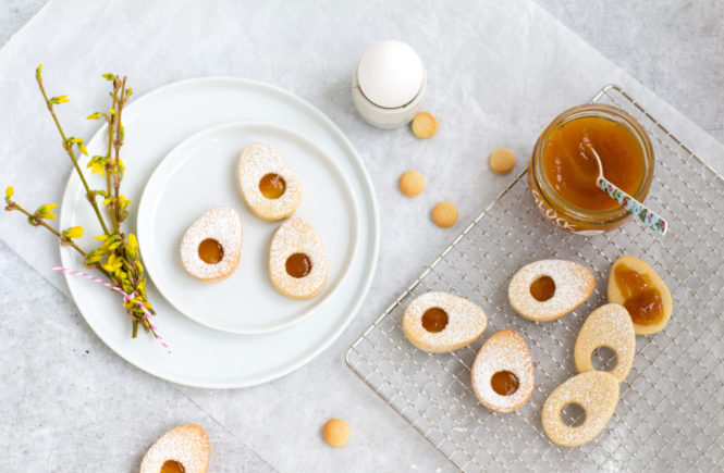 Zarte-Spiegelei-Kekse