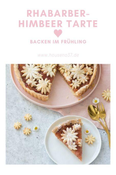 Rezept Rhabarber Himbeeren Torte