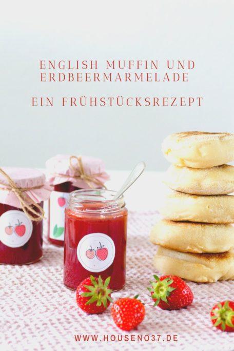 ENGLISH-MUFFIN-UND-ERDBEERMARMELADE Rezept
