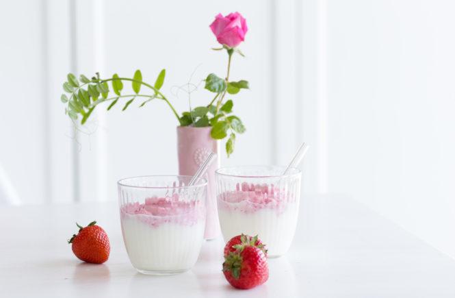 Erdbeer-Dalgona