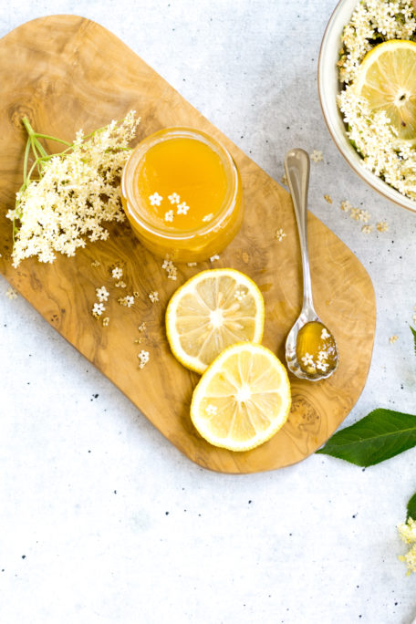 Holunderblütengelee mit Orange