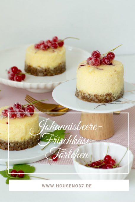 Johannisbeer-Frischkäse-Törtchen