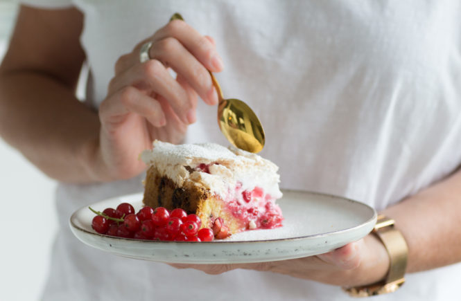 Johannisbeeren Kuchen