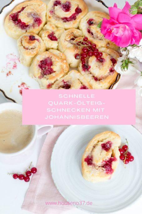Schnelle Quark Ölteig Schnecken