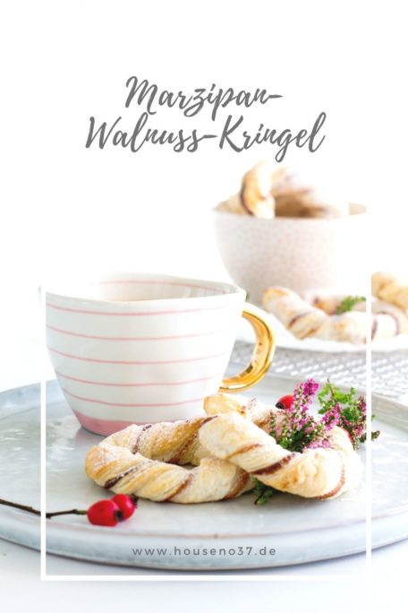 Marzipan-Walnuss-Kringel Rezept