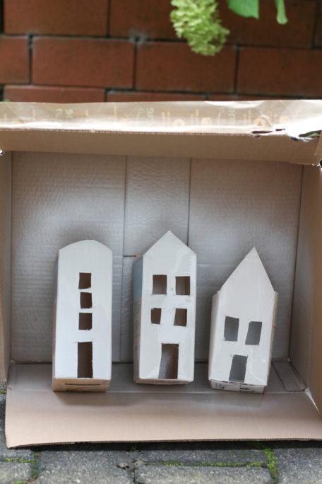 Häuser aus Tetra Packs