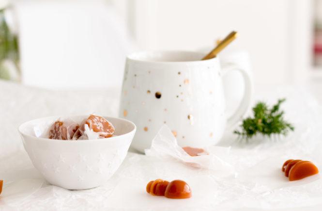 Salted Karamellbonbons