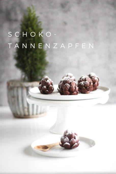 Schoko-Tannenzapfen