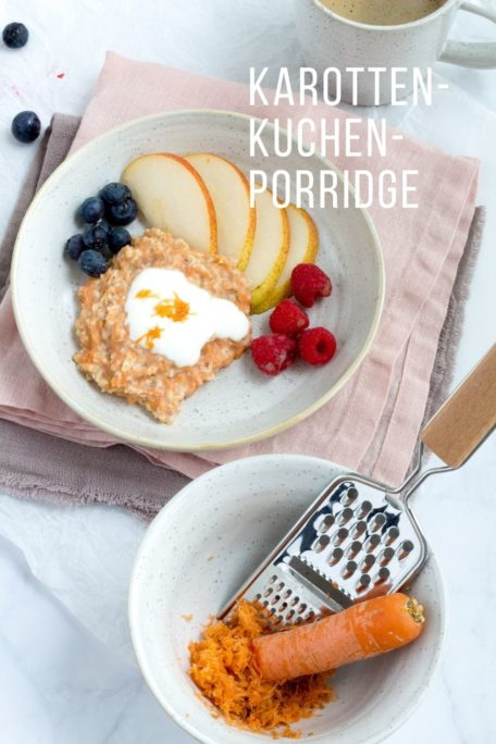 Karottenkuchen-Porridge