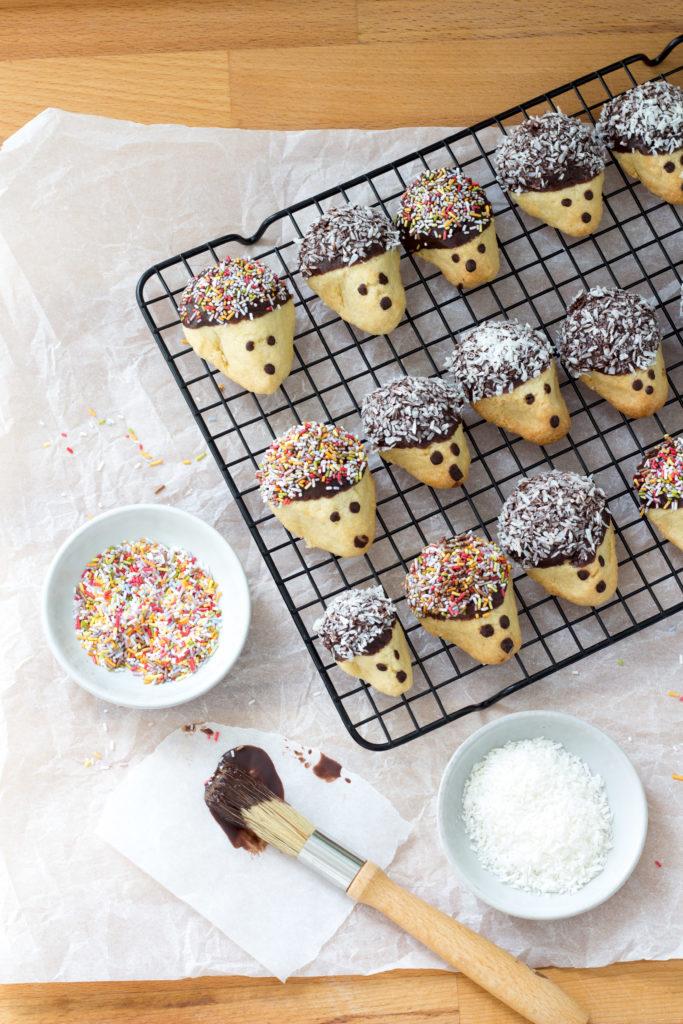 Igel-Kekse