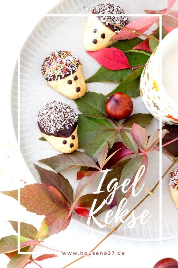 Backen im Herbst- Igel-Kekse